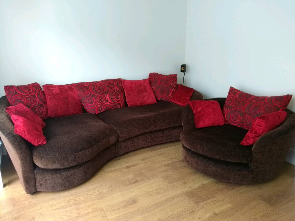 Large Corner Sofa And Cuddle Chair In Manchester Gumtree