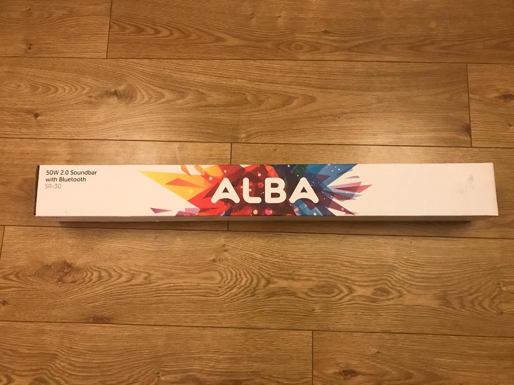 Alba 2.0 soundbar with Bluetooth BNIB