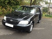 2006 KIA SEDONA TD 7 SEATER, VERY HI SPEC /PRIVATE NUMBER PLATE FITTED/IDEAL SIZE PEOPLE MOVER/BONGO