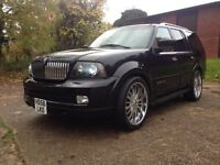 2006 Lincoln Navigator 5.4  7 Seater FULLY LOADED Leathers, screens alloy wheels 4x4