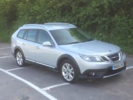 Saab 9-3 X T AWD Estate, One Owner, Full History, Full Heated Leather Seats