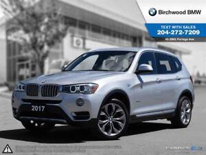 2017 BMW X3 Xdrive28i Premium Package Enhanced! Local Car!