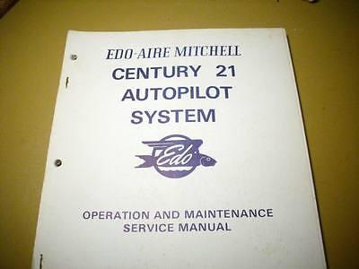 Edo Century 21 Autopilot Operation & Service Manual