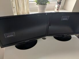 2x Samsung SyncMaster 2333T monitors (1920x1080) - Repair required