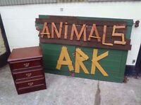 3 Draw Wood Set of Draws Delivery Available £10