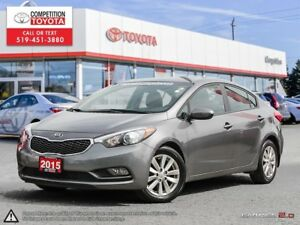 2015 Kia Forte 1.8L LX One Owner, No Accidents