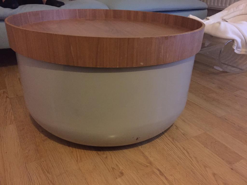 Habitat Bert Storage Coffee Table Mushroom Coffee Table