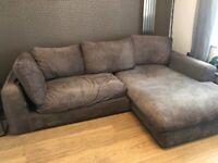 Large corner sofa - Poynton