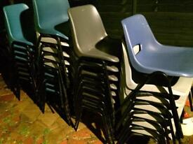 Party, dinning, waiting room stackable chairs