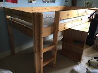 Captain's Bed (Single, pine)