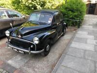 Morris minor classic car mot and tax exempt