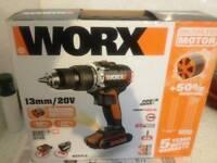 Brand new boxed worx 20v brushless £90😮😮😮