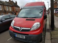 Vauxall vivaro 2010 High Roof, only done 83000 Miles