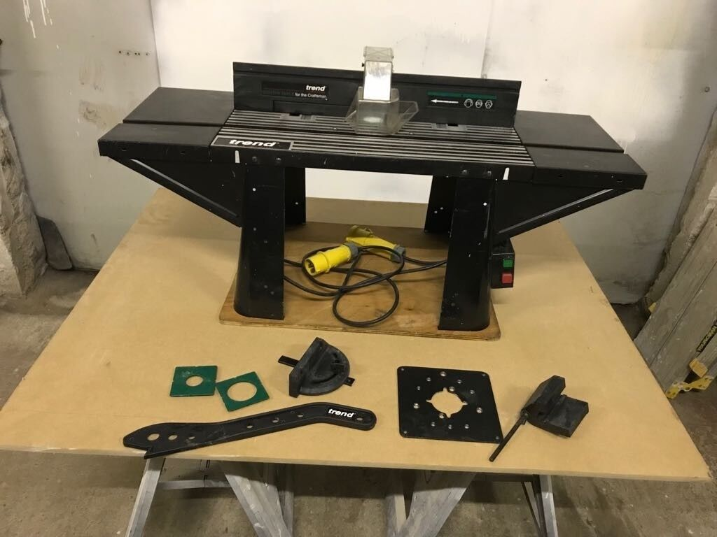 Trend router table 110v and router table insert plate in trend router table 110v and router table insert plate greentooth Image collections