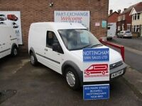 FORD TRANSIT CONNECT HIGH ROOF LWB 2007 NO-VAT