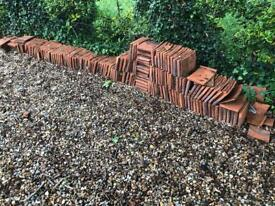 Reclaimed terracotta tiles 25p each