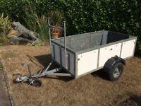 Trailer: 500kg 2-wheel