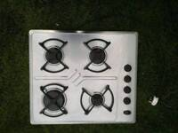 **WHIRLPOOL**STAINLESS STEEL**GAS HOB**FULLY WORKING**COLLECTION\DELIVERY**MORE AVAILABLE**NO OFFERS
