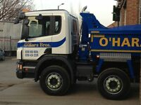 HGV tipper driver required for ft/pt employment.