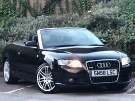 image for AUDI A4 S LINE CONVERTIBLE FOR SALE ! STUNNING CONDITION !