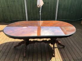 Large Mahogany Dining Table