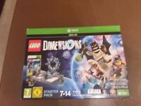 Lego Dimensions XBOX 360 Starter Pack new, unopened