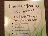 Sports injuries? I can help!