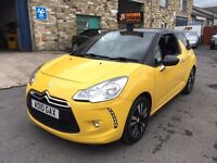 Citroen DS3 1.6 HDi DStyle 3dr F.S.H+COMPANY OWNED+WARRANTY 2010 (10 reg), Hatchback