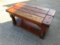 Indian Solid Wood Folding Coffee Table