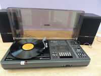 Vintage Bush table top system turntable radio cassette new sytlus and spindle