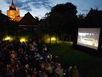 Pop-up Cinema Equipment for Hire - Indoor or Outdoor