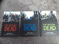 The Walking Dead Graphic Novel Books 1-3