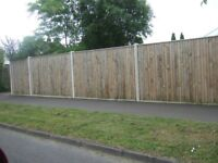 ALL TYPES OF GARDEN FENCING AND GATES