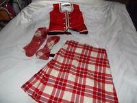 Highland dancing kilt for sale
