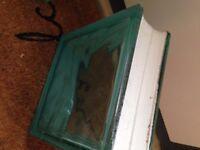 23x Blue/Green Glass Bricks