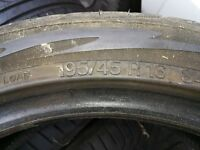 5 tyres from a Ford fiesta