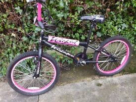Girls Wicked BMX cycle