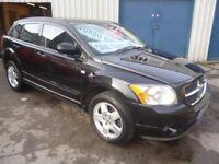 Dodge CALIBER SXT D,5 dr hatchback,FSH,full MOT,1 owner from new,heated leather interior,only 58,000