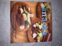 Delicious Snacks Hardback Recipe Book IP1