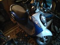 100cc sym Mio scooter
