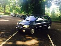 ZAFIRA 2002-7 SEATER 1.8 HPI DONE-FULL SERVICE HISTORY -ELEGANCE MODEL-SUNROOF LONG MOT