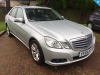2010 (59) MERCEDES-BENZ E200 CDI BLUE EFFICIENCY, GREAT SERVICE HISTORY, FULL LEATHER, 2 KEYS