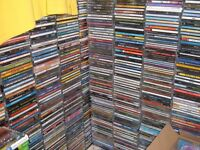 500 CDS ALL TYPES OF MUSIC FROM POP, ROCK, EASY LISTNING