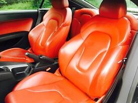 Audi TT 3.2 V6 S Tronic Quattro 3dr RED LEATHER PACK SERVICE HISTORY