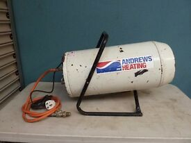 Andrews Heating Propane Space Heater Ideal for Garage / Workshop