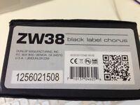 MXR ZW38 Black label chorus guitar pedal