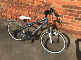 "Auigo Tohiti 24"" Wheel Girls Bike, Serviced, Free Lights, Lock & Delivery."
