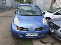 NISSAN MICRA 1.3 AUTOMATIC LOW MILEAGE 2004