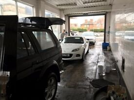 BUSY CARWASH FOR LEASE ON A BUSY MAIN ROAD IN EVESHAM