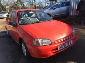 Toyota Starlet 1.4 Petrol 5 door automatic